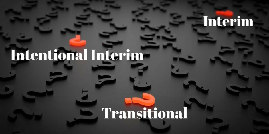 What is a Transitional Pastor