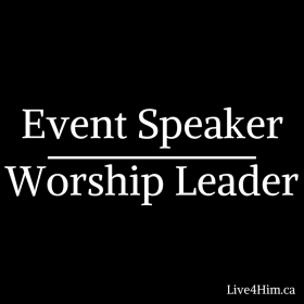 Event Speaker Worship Leader