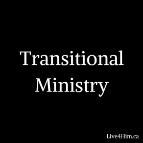 Transitional Ministry graphic
